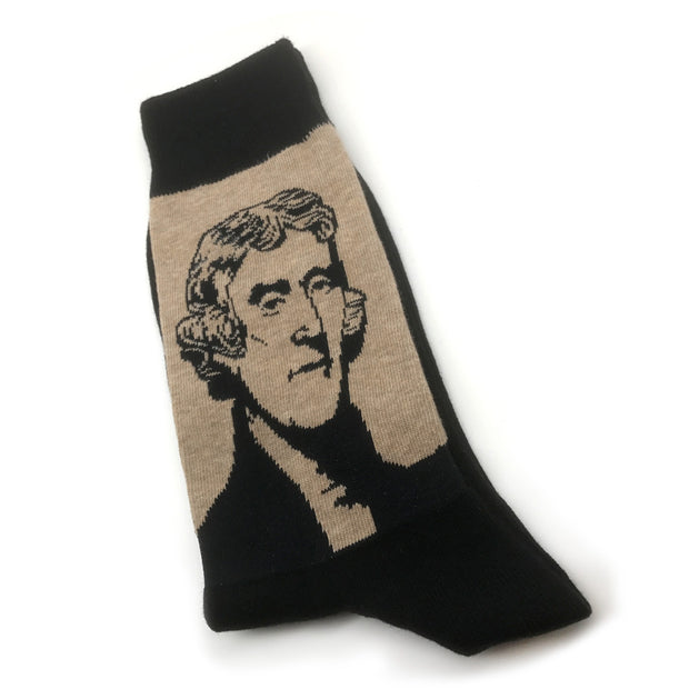 Thomas Jefferson Retro Socks