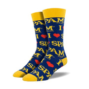 Spam Retro Socks