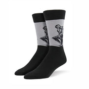The Thinker Retro Socks (Mens)