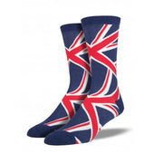 Union Jack Retro Socks (Mens)