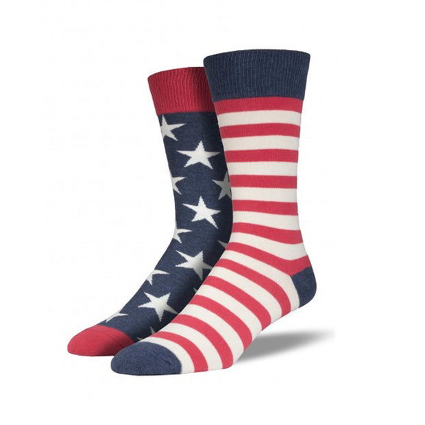 Stars & Stripes Retro Socks