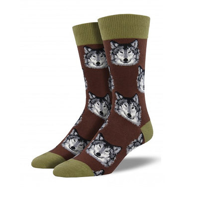 Spirit Of The Wolf Retro Socks