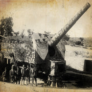 German heavy artillery at Gallipoli