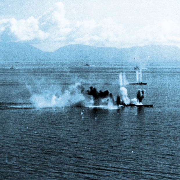 The Battle of Leyte Gulf 1944