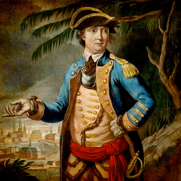 American Revolutionary War general, Benedict Arnold 1740 to 1801
