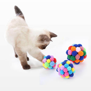 Handmade Colorful Cat Toy