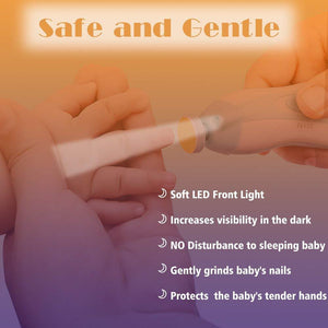 Safe and Gentle  Baby Nail Trimmer (Pain Free)