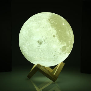 Lamp - Stylish 3D Print Moon Lamp