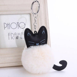 Cute Cat Lovers Pompon