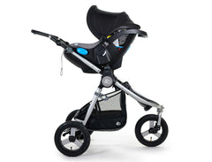 2020 Bumbleride Indie All Terrain Stroller with Indie/ Speed Car Seat Adapter for Clek / Nuna/ Maxi Cosi/ Cybex (fabric removed, optional) with Clek Liing attached. - Global
