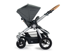 2020 Bumbleride Era City Stroller in Dawn Grey - Seat Reversed