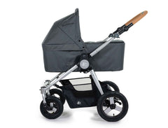 2020 Bumbleride Era City Stroller with Dawn Grey Bassinet (Fabric removed, optional) - Global