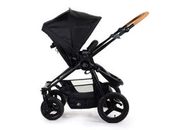 2020 Bumbleride Era City Stroller in Matte Black - Seat Reversed