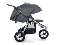 2020 Bumbleride Indie All Terrain Stroller in Dawn Grey - Profile