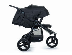 2020 Bumbleride Indie All Terrain Stroller in Matte Black - Profile