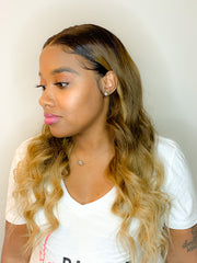 18' Custom Colored Lace Front Wig
