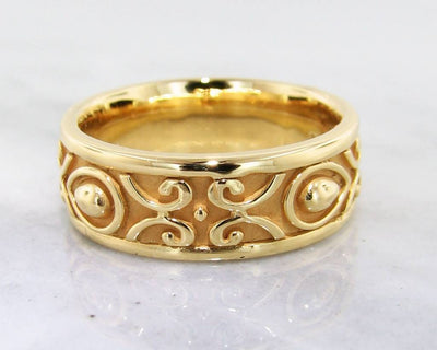 22K Ring, Men's Band, Morocco