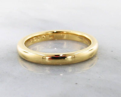 22K Yellow Gold Ring, Slender