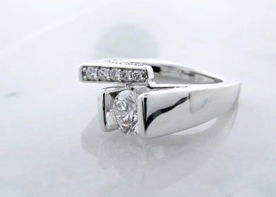 White-gold-asymmetrical-brilliant-cut-diamond-ring-wexford-jewelers