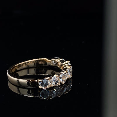 yellow-gold-rose-cut-diamond-ring-wexford-jewelers