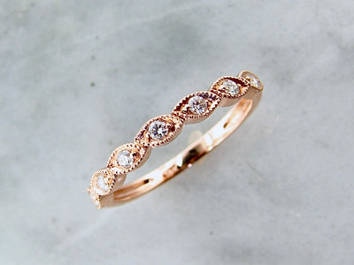 rose-gold-diamond-milgrain-ring-stacking-wexford-jewelers