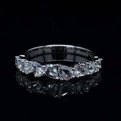 14K-white-gold-diamond-rose-cut-stacking-band-wexford-jewelers