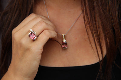 tourmaline-pink-cushion-slider-pendant-collarbone