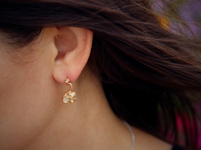 rose-petals-diamond-earrings-posts-dangles-wexford