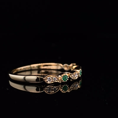 wexford-jewelers-yellow-gold-stacking-ring