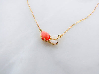 wexford-jewelers-opal-coral-necklace-yellow-gold