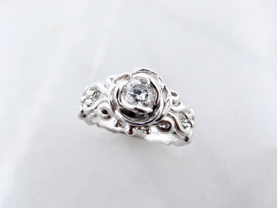 victorian-style-rose-shaped-engagement-diamond-ring-wexford-jewelers