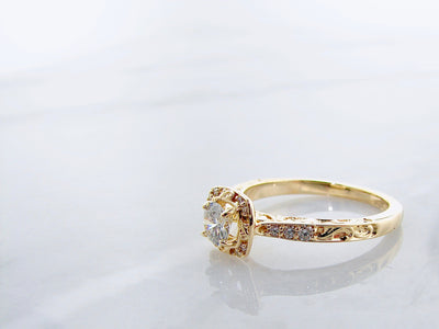 yellow-gold-.35ct-center-diamond-ring-wexford-jewelers