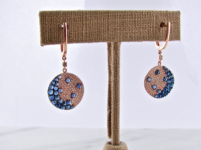 rose-gold-sapphire-diamond-earrings-wexford-jewelers