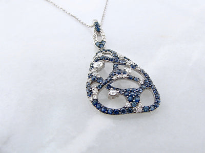 diamond-blue-sapphire-white-gold-pendant-wexford-jewelers