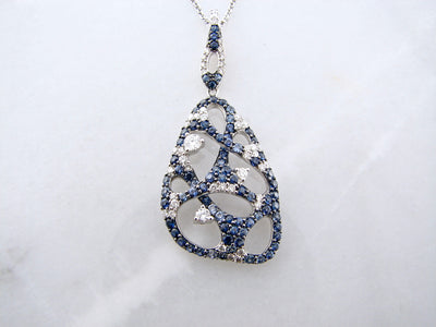 wexford-jewelers-white-gold-sapphire-diamond-necklace
