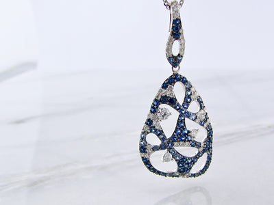 white-gold-diamond-blue-sapphire-pendant-wexford-jewelers
