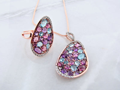 rose-cut-rose-gold-colored-gemstone-jewelry