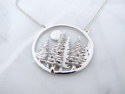 silver-split-chain-necklace-forest-landscape-wexford-jewelers