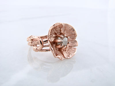 poppy-rose-gold-rose-cut-diamond-ring-wexford-jewelers