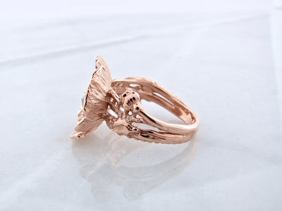 rose-gold-rose-cut-diamond-ring-wexford-jewelers