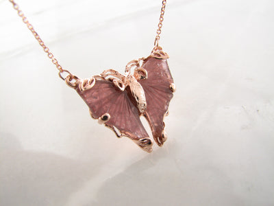 butterfly-gemstone-pink-rose-gold-necklace-wexford-jewelers