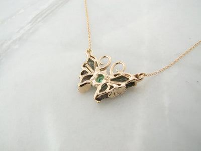 wexford-jewelers-green-topaz-butterfly-necklace
