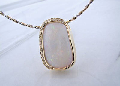 opal-diamond-two-tone-gold-diamond-necklace