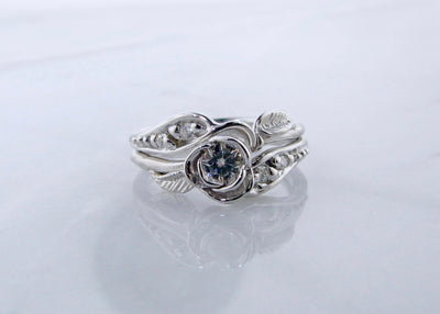 moissanite-silver-prize-tea-rose-wedding-ring-set-wexford-jewelers