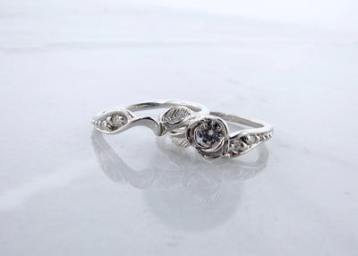 prize-tea-rose-wedding-ring-set-silver-moissanite-wexford-jewelers