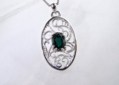wexford-jewelers-silver-tourmaline-pendant-green