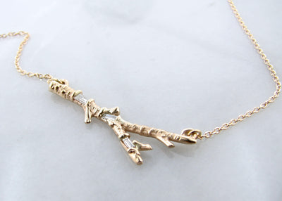 twig-necklace-yellow-gold-baguette-diamond-wexford-jewelers