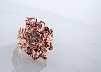 rose-gold-14K-wedding-ring-set-jane-rose-shape-ring