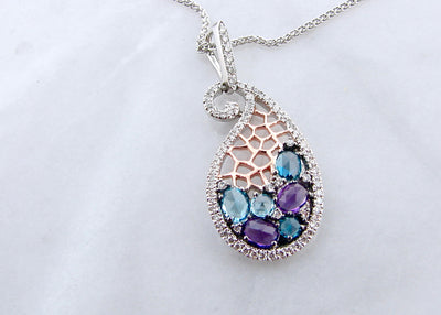 diamond-accent-topaz-white-rose-gold-amethyst-blue-topaz-necklace