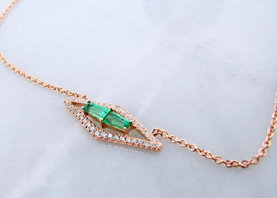 rose-gold-wexford-jewelers-quartz-diamond-necklace